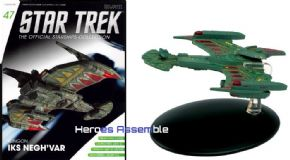 Star Trek Official Starships Collection #047 Klingon Negh'Var Eaglemoss